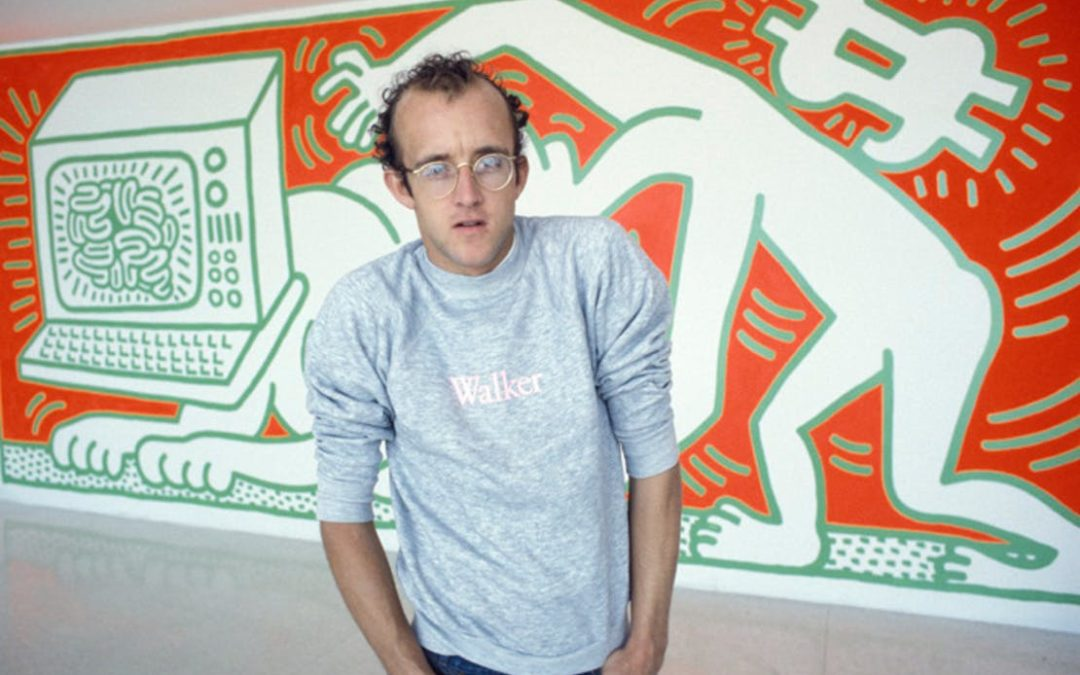 Keith Haring: Opere Pop Art con Graffiti ed Omini Stilizzati